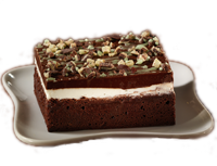 Chocolate Mint Brownie with Andes Mints