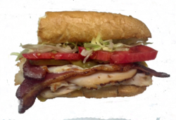 Turkey Club Sub Sandwich